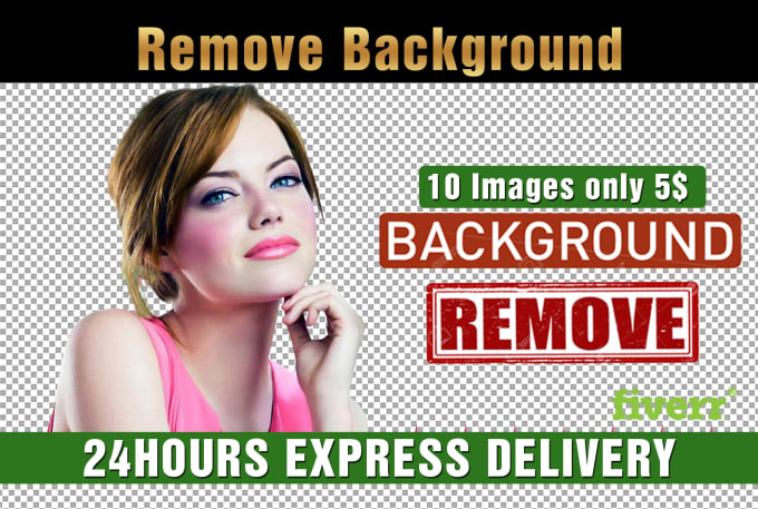 remove background image your product | Fiverr