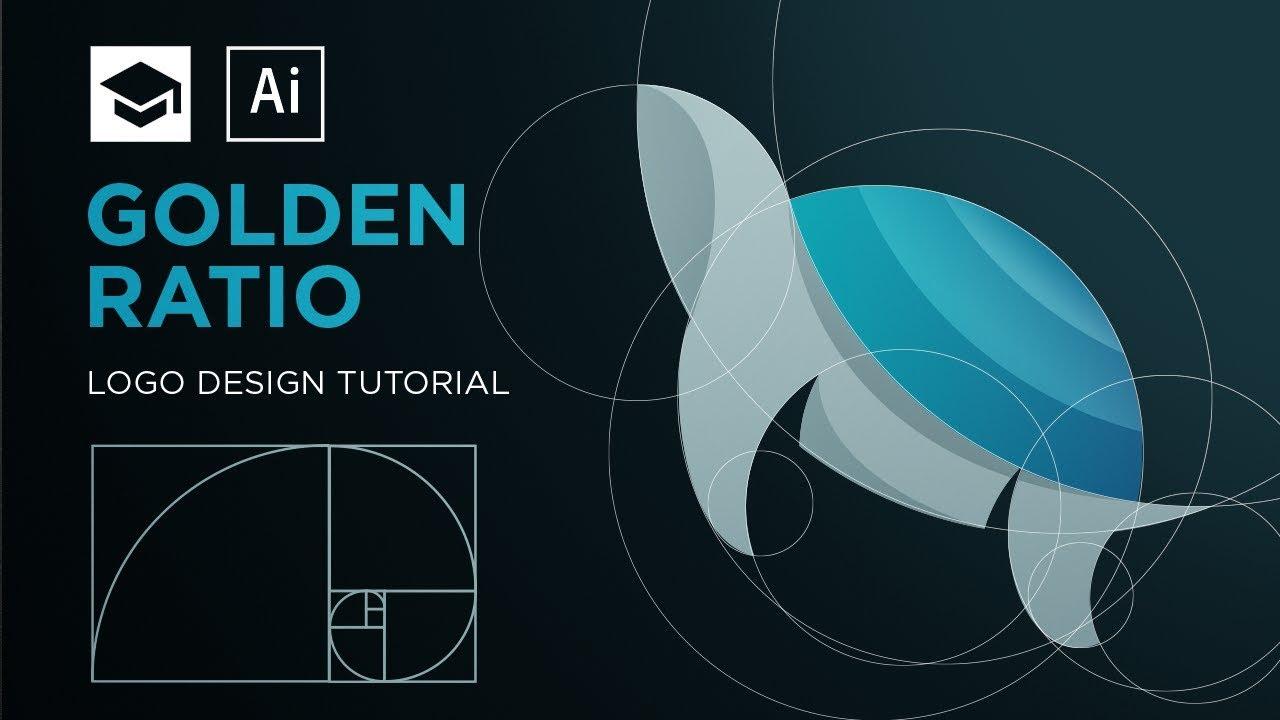 How to design a logo with golden Ratio | Adobe Illustrator Tutorial