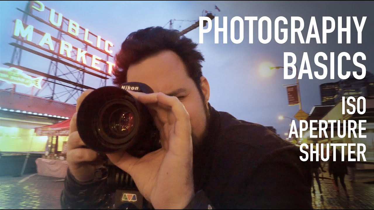 Photography Tutorial: ISO, Aperture, Shutter Speed