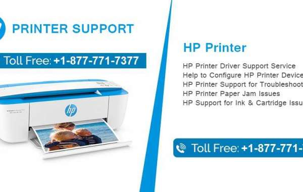 HP Printer Support Number 1-877-771-7377   How to Fix HP Printer Offline Issues