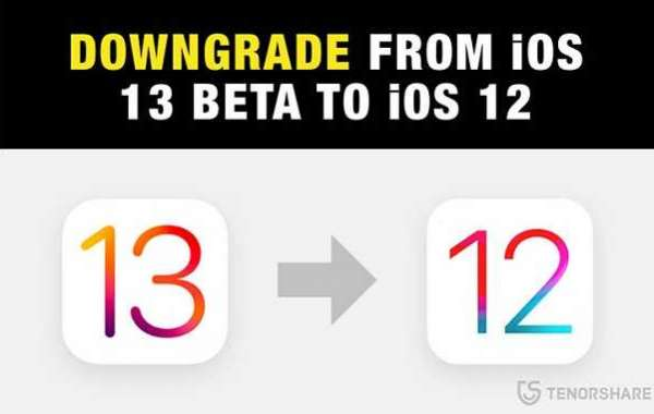 How to Downgrade 13 Beta to iOS 12?
