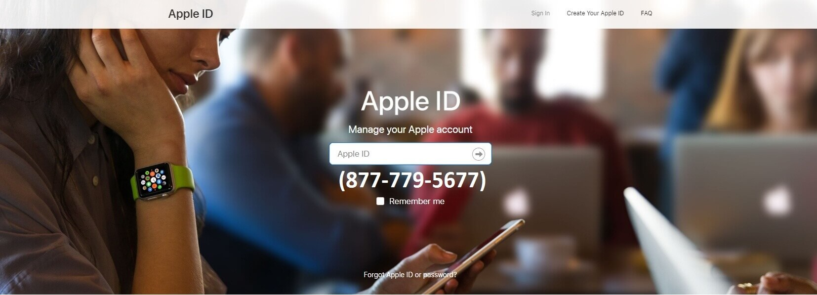 Apple ID Support (877-779-5677) to Recover Forgot Apple ID Password