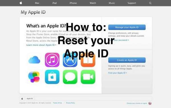 HOW TO RESET YOUR APPLE ID PASSWORD?