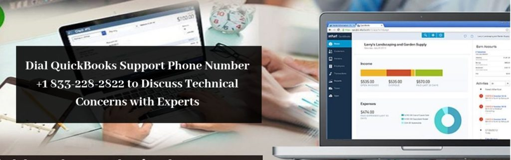 Contact the Professionals at QuickBooks Support Phone Number +1 833-228-2822