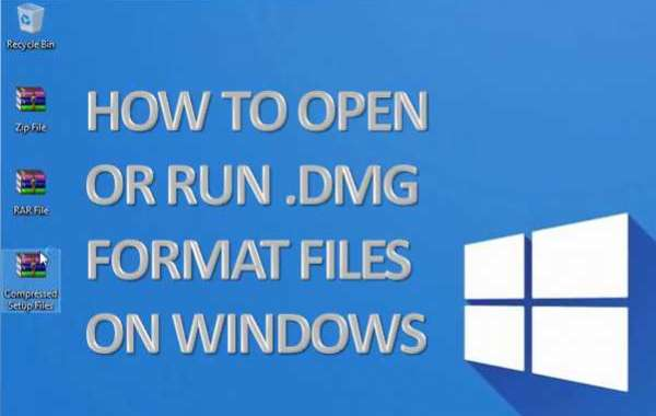 How To Open Or Run .dmg Format Files On Windows