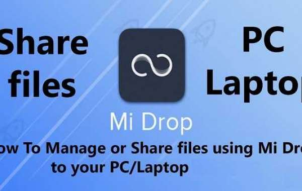 How to Share a File from Mi Drop on PC?