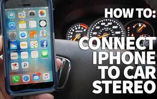 How to connect an iPhone with car?