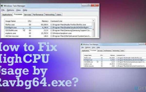 How to Reduce High CPU Usage by ravbg64.exe?
