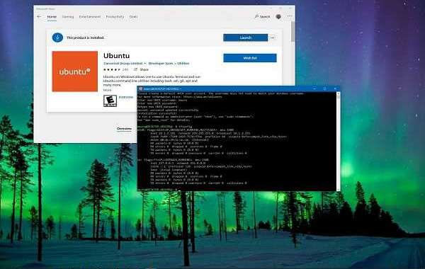 HOW TO INSTALL SUBSYSTEM OF WINDOWS FOR LINUX