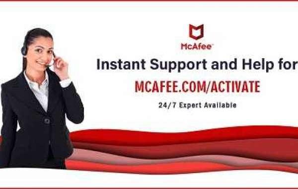 McAfee antivirus and security program  - mcafee.com/activate