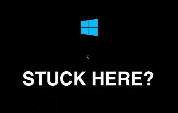 How to fix Windows 10 Stuck on Start Screen?