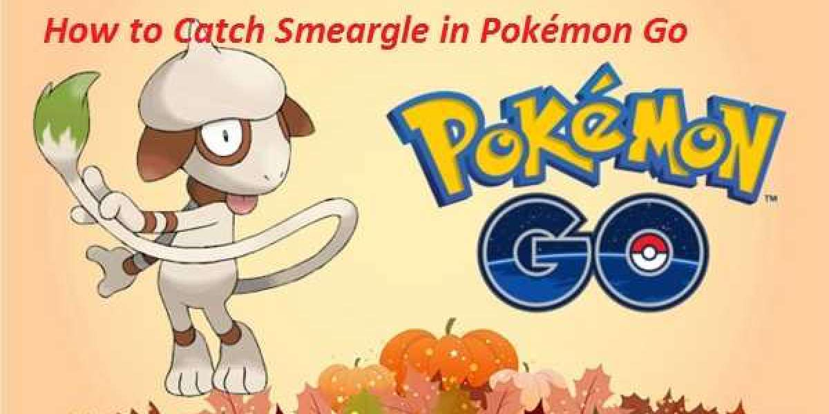 How to Catch Smeargle in Pokémon Go