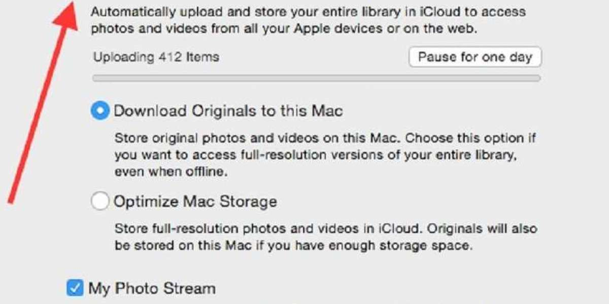 How to Set iCloud Photo Library in Macbook