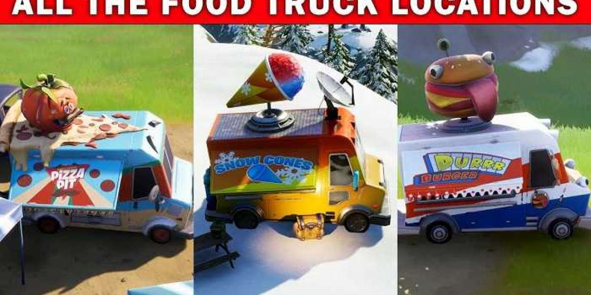 How to Find Food Trucks for Overtime Challenge in Fortnite?