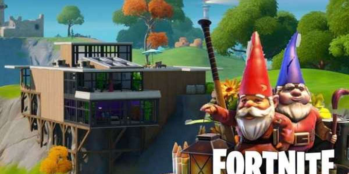 Fortnite: Hidden Gnome in Wooden Shack, Fancy View, and Big House location
