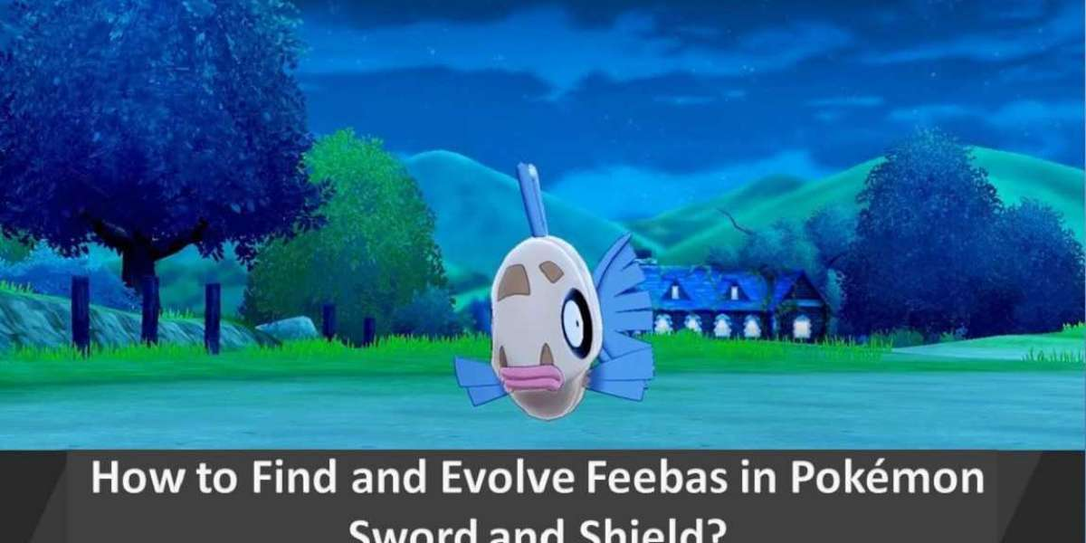 How to Find and Evolve Feebas in Pokémon Sword and Shield?