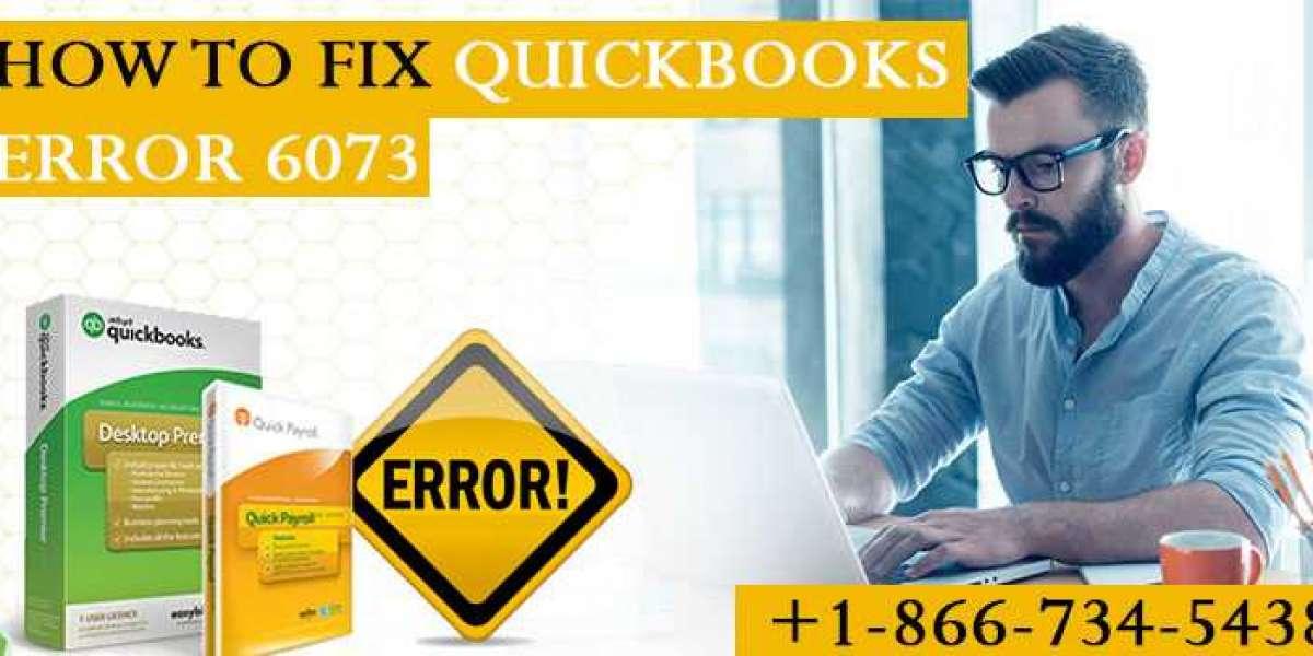 How to Fix QuickBooks Error 6073