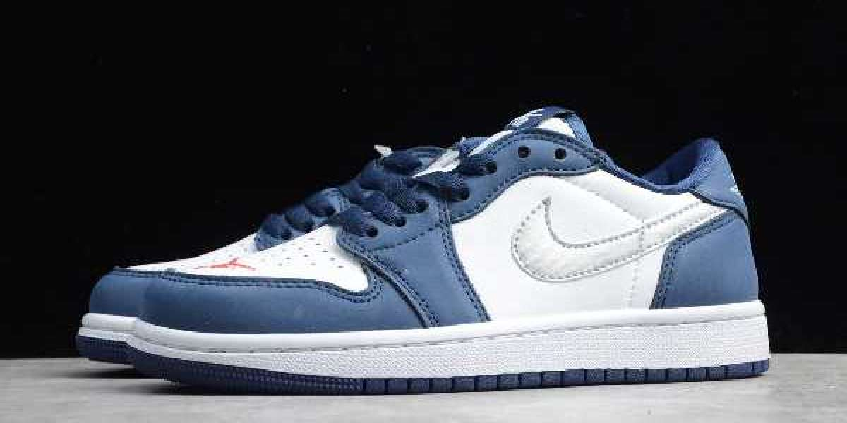 "2020 Nike SB x Air Jordan 1 Low ""Midnight Navy"" CJ7891-400 Latest Release"