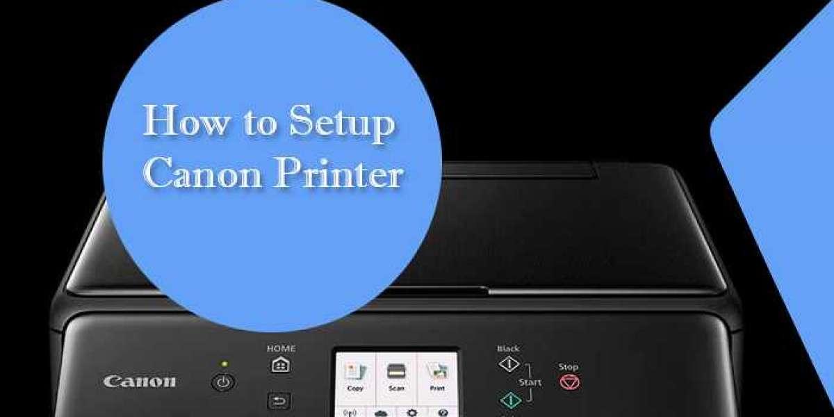 How to setup canon printer?