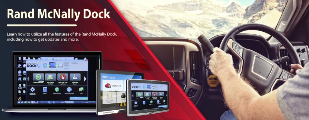 Rand McNally Dock | Rand Mcnally Connect & GPS Update