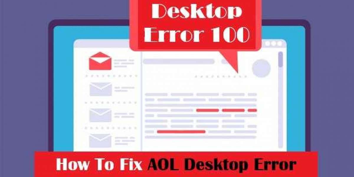 How to Resolve AOL Desktop Error Code 100 | +1-866-257-5356