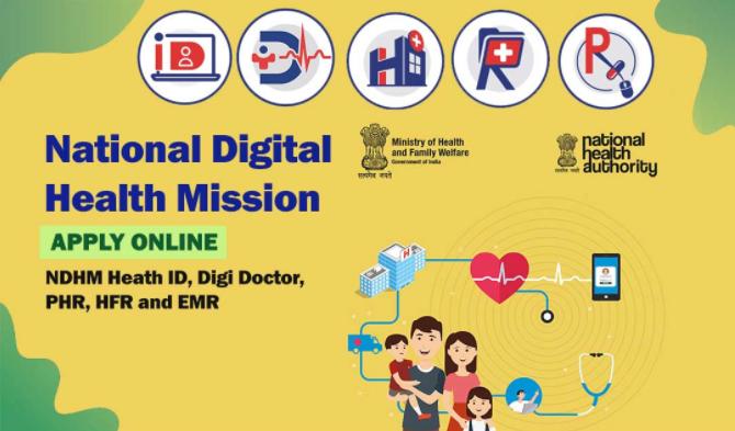 National Digital Health Mission [NDHM] Scheme 2020: NDHM Registration