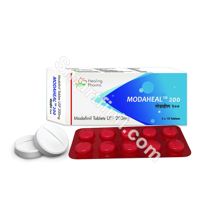 Modaheal 200 mg By Healing Pharma | Reviews, Side Effects | Smart Finil