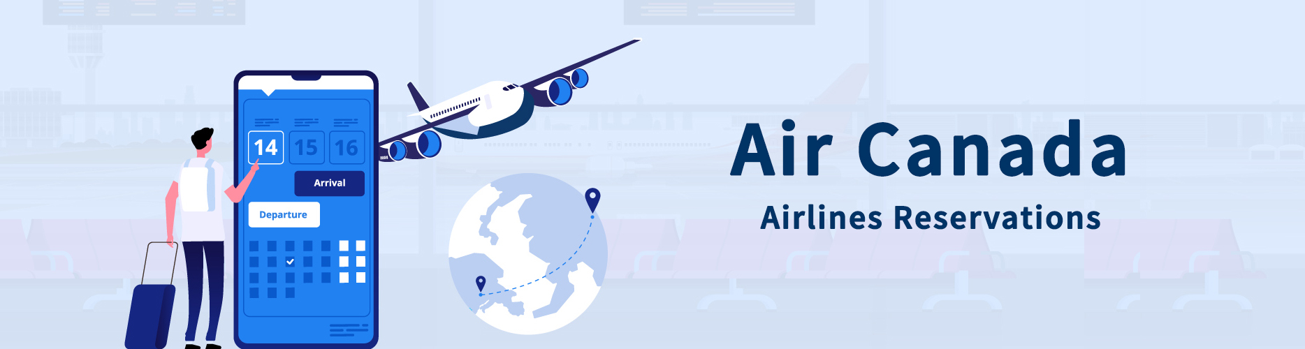 Air Canada Airlines Reservations - 30% Off - Air Canada Booking With Best Deals