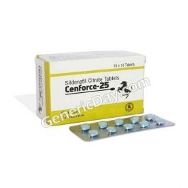 Cenforce 25 | Sildenafil Citrate | Up to 50% OFF | Reviews