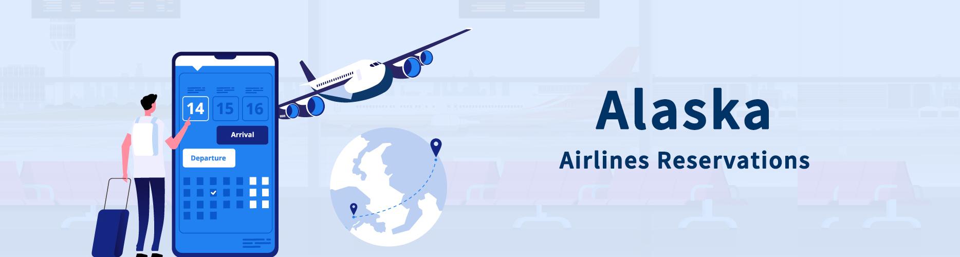 Alaska Airlines Flight Reservations, With Alaska Airlines Deals, Get 30% Off