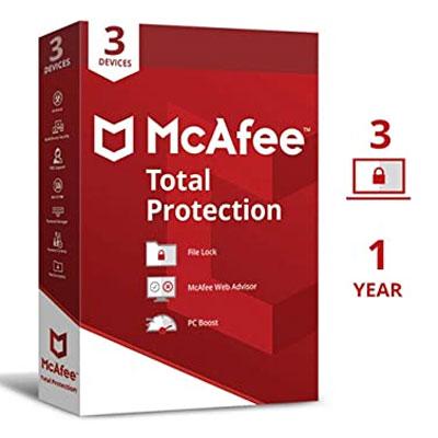 Buy McAfee Total Protection Multidevice Key GLOBAL - a2softadvisor