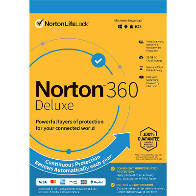 Norton 360 Deluxe (1 Year/ 5 Devices) - Softwares Diary