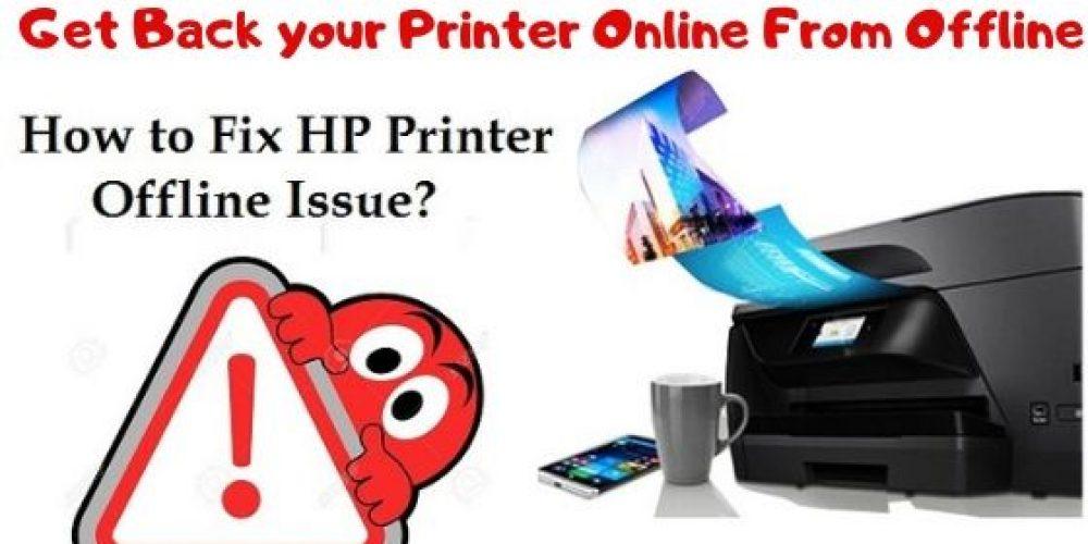 HP Printer Offline Windows 10