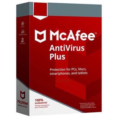 Buy McAfee AntiVirus Plus - Softwaresdiary
