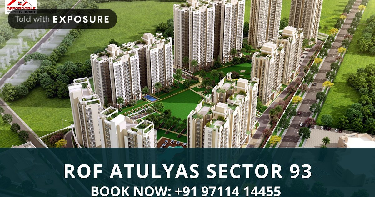 ROF Atulyas - the best rates in real estate Gurgaon by Devojeet Bhatt - Exposure