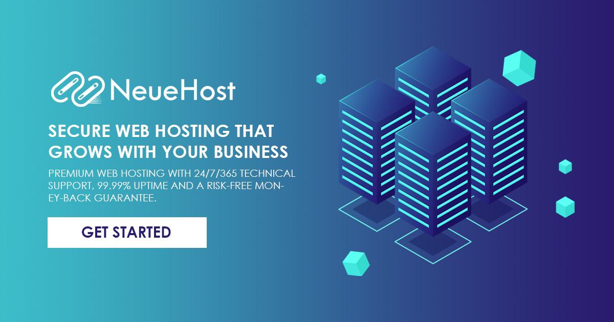 Web Hosting Services | 2021's BEST Shared Hosting | NeueHost.com
