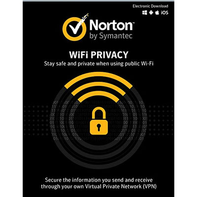 Norton Wi-Fi Privacy (1 Year/ 1 Device) - Software Excellent