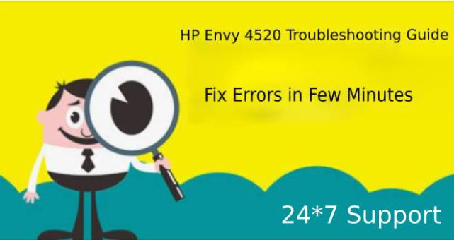 HP Envy 4520 Troubleshooting Guide