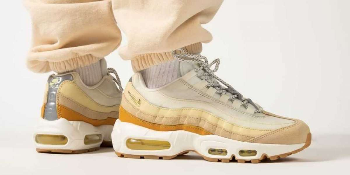 "All-match artifact Nike Air Max 95 ""Coconut Milk"" DD6622-100 Coming"