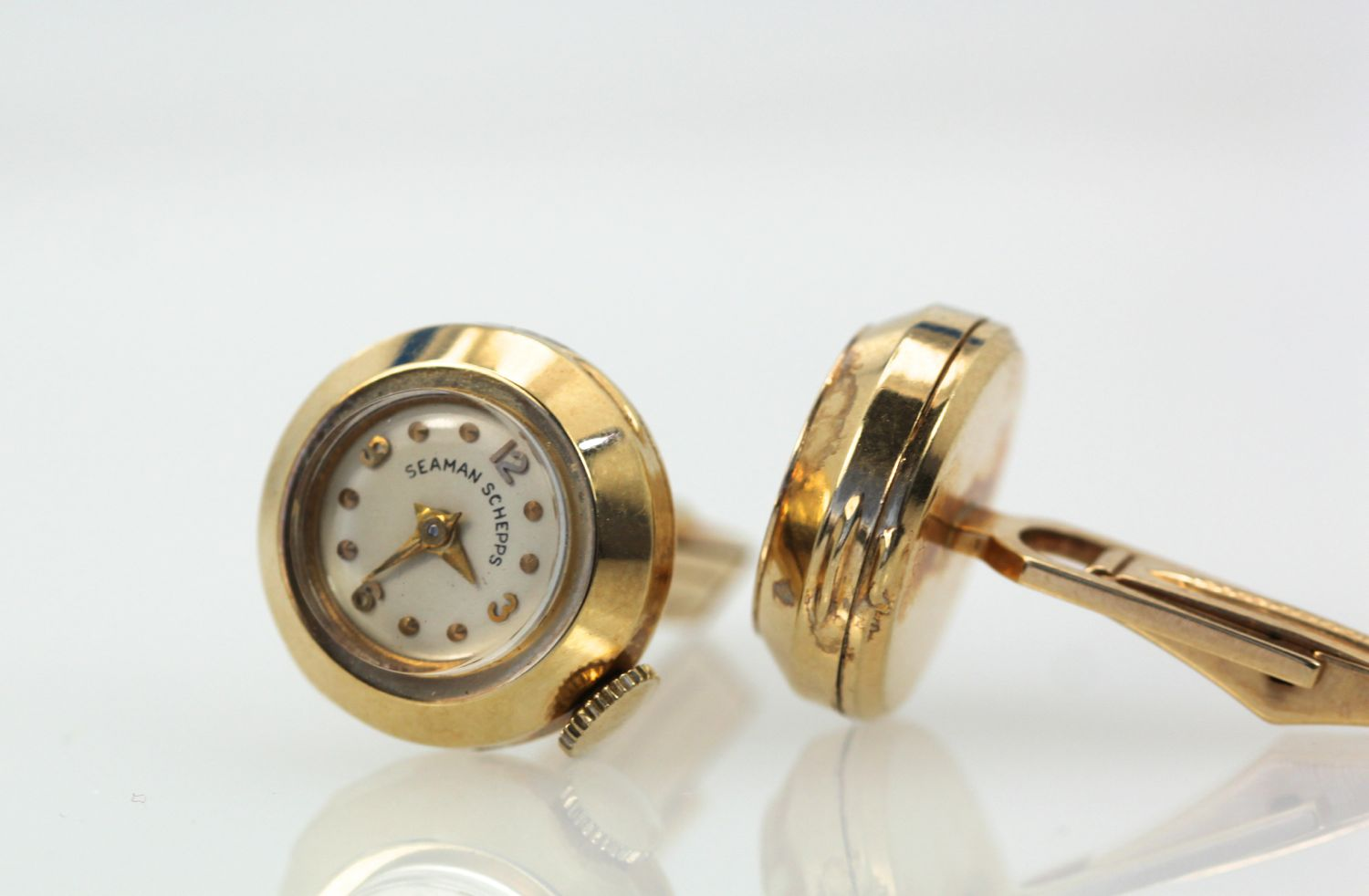 Seaman Schepps Watch Cufflinks – Cris Notti Jewels
