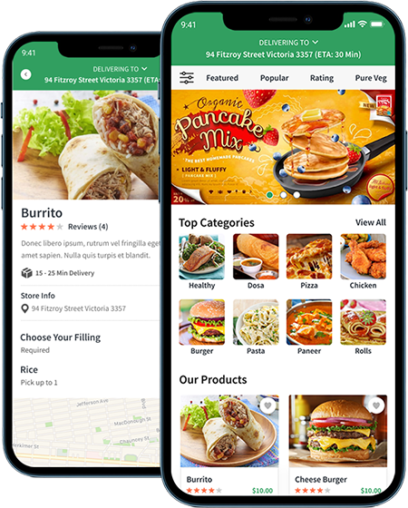 On-Demand Food Delivery App | White Label Delivery App