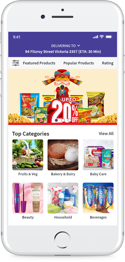 Grocery Delivery App | On-demand Grocery Delivery Apps: JumpGrowth