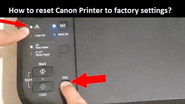 How to reset Canon Printer to factory settings? | Canon Support