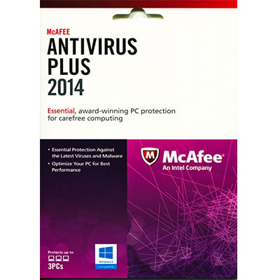 Buy McAfee AntiVirus Plus - SoftBest2Buy