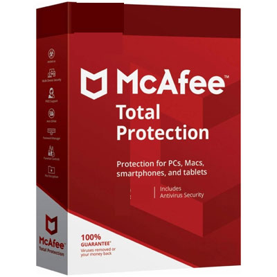 Buy McAfee Total Protection 2020 (3 Years/ 5 Devices) - Secure Buyer