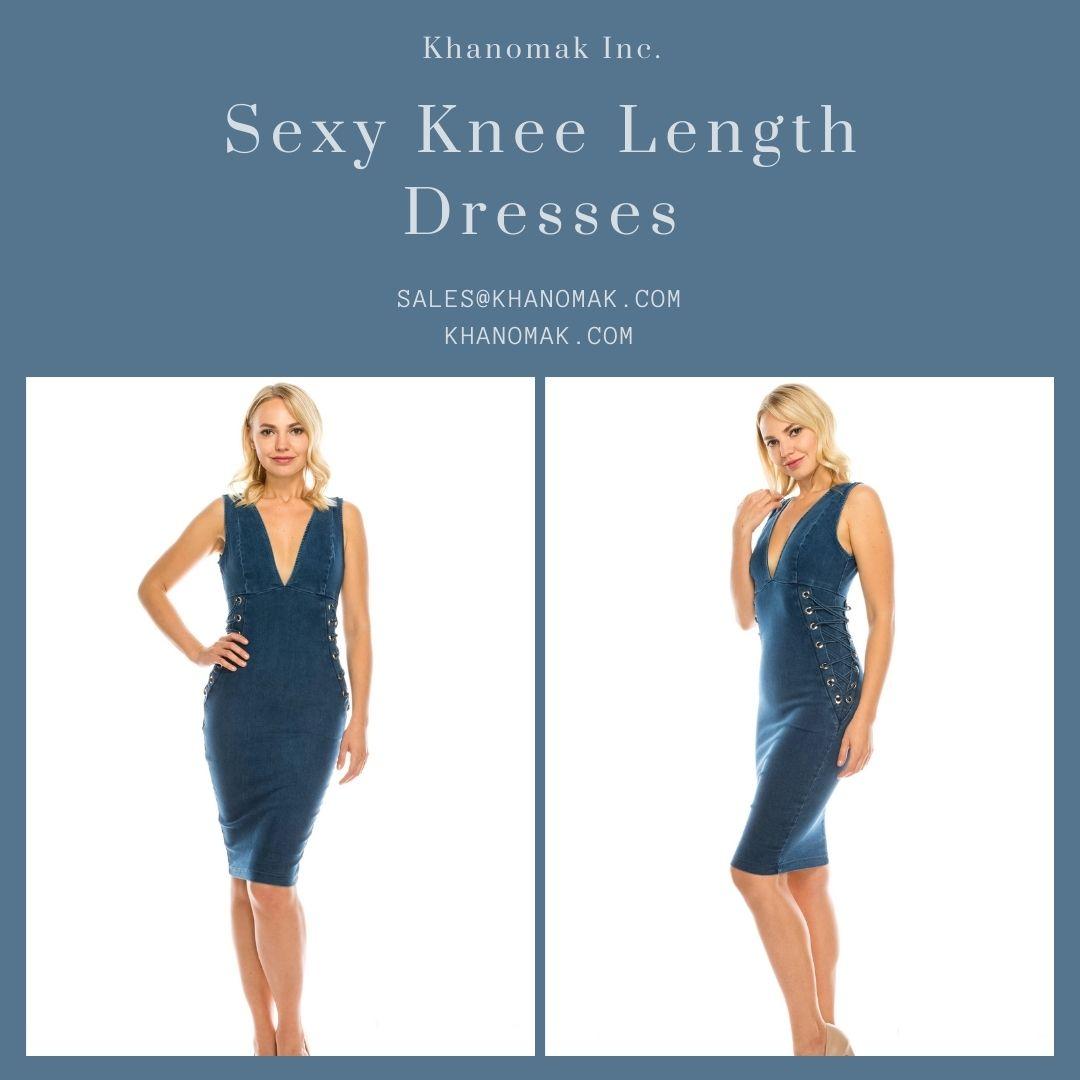 Buy Sexy Knee Length Dresses