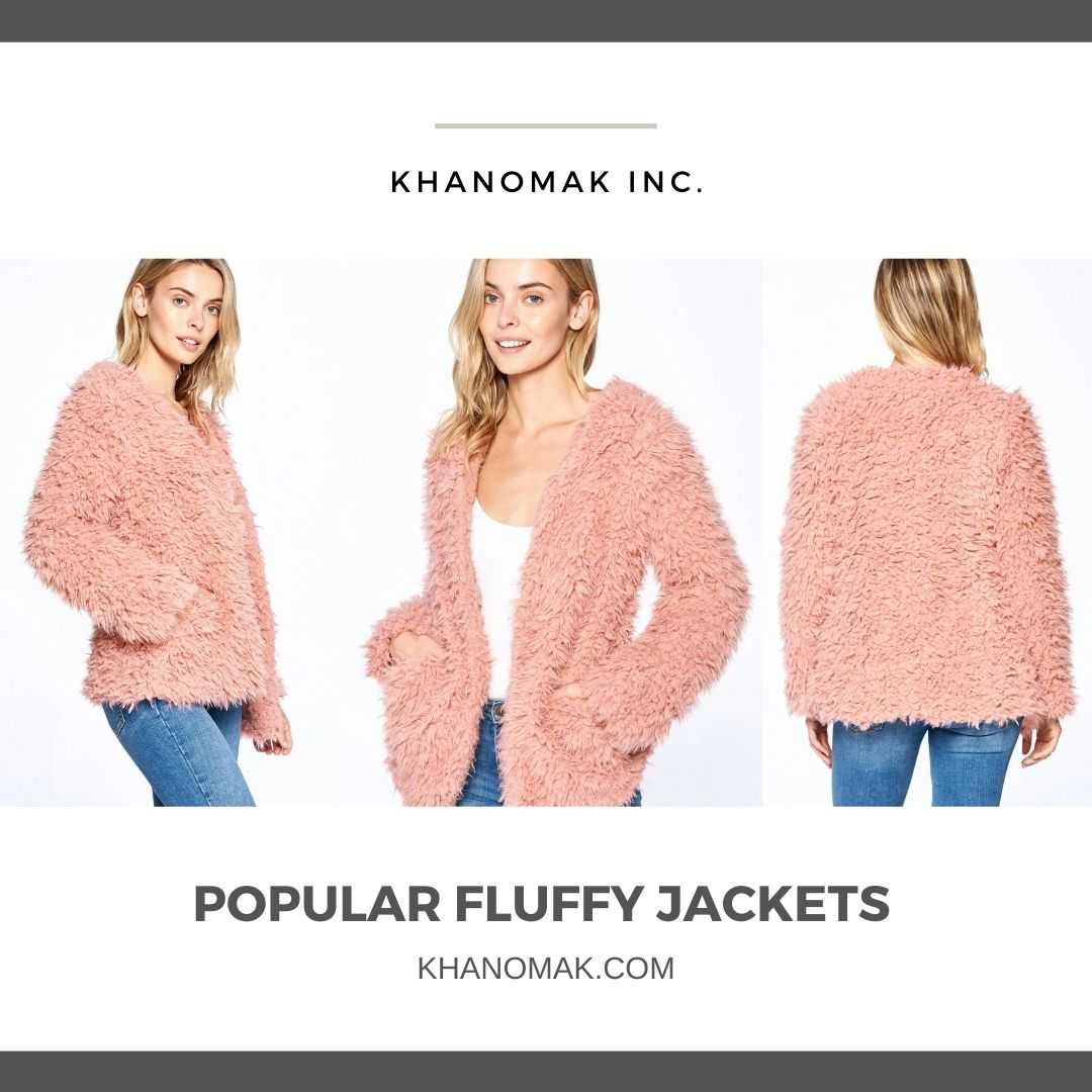 Huge Collection of Popular Women Fluffy Jackets