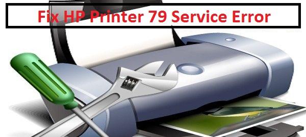 HP 79 Service Error